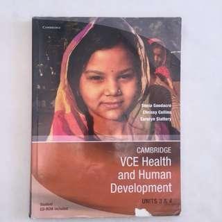 Health and Human Development Textbook