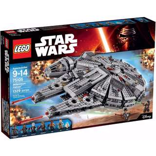 MILLENNIUM FALCON BRAND NEW RARE SET EXTREMELY CHEAP
