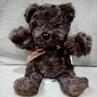 🚚 ✨全新🎉9吋坐姿咖啡色泰迪熊