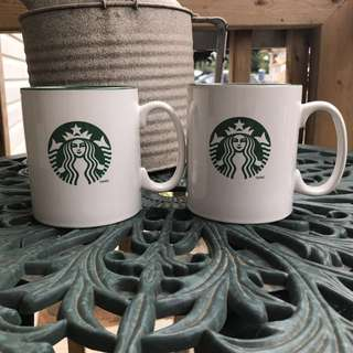 Starbucks 2012 Pair Mugs 598ml