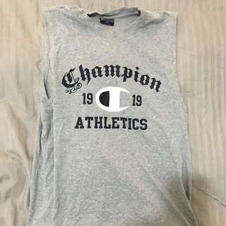 Men's Champion singlet size S