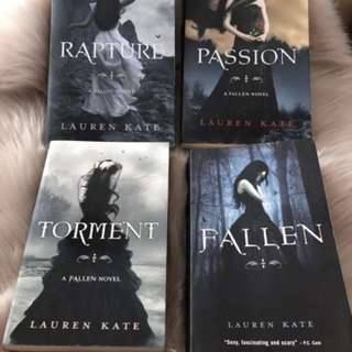 Fallen series - all 4 books