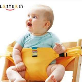 Lazy Baby Taft toys portable baby safety strap seat (YELLOW)