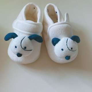 Blie dog shoes/ from 3 to around 8months