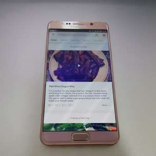 Samsung Note 5 Rose Gold 64GB