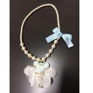 kids cute pearl necklace