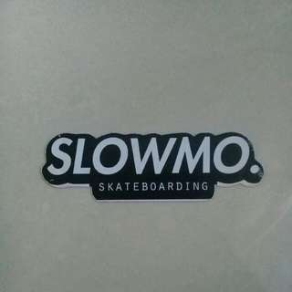 slowmo sticker
