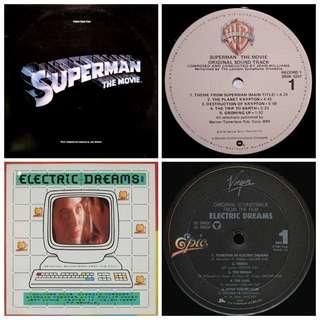 Soundtrack superman electric dreams vg+ vinyl records