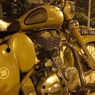 Royal Enfield Desertstorm EFI 500cc for sale