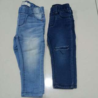 Cotton on kids jeans 12-18 month