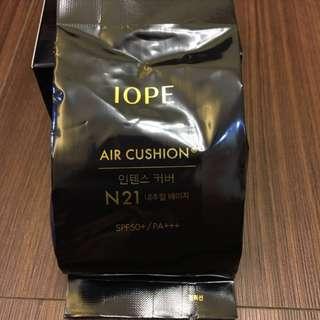 iope 水潤光透氣墊粉底極致遮瑕 補充包