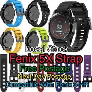 Fenix 5X 26mm Strap