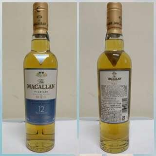 Macallan fine oak triple cask 12 350ml