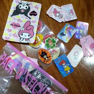 My Melody and Kuromi Sticker Pack Sanrio Japan