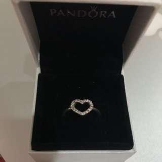 Pandora RETIRED Heart Ring