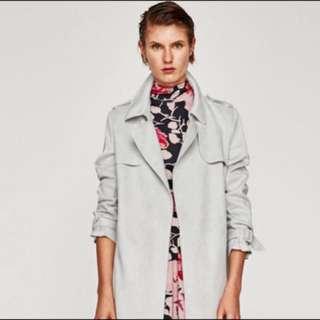 🚚 Zara 麂皮大衣