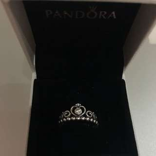 Pandora Sliver Princess Ring