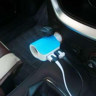 包郵 車載充電器 雙USB