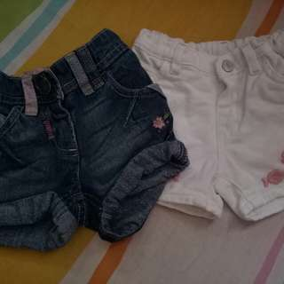 Shorts 1year old