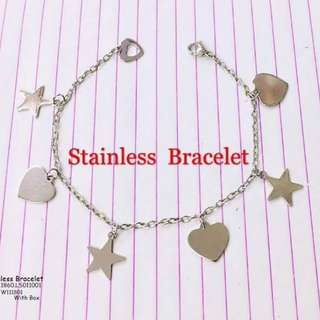 Stainless bracelet with box