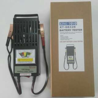 KING TOYO Battery Tester - 6/12 volts