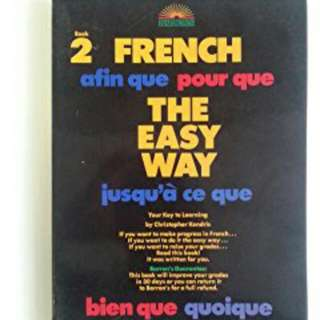 French The Easy Way Textbook