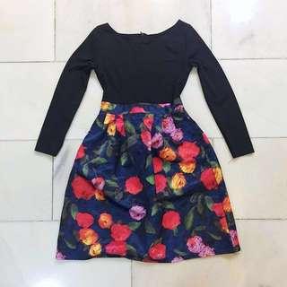 Korean Midi Dress