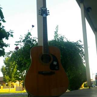 Right Hand Epiphone Acoustic Guitar