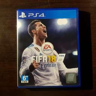 FIFA 18 PS4.