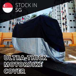 Ultra Thick Waterproof Motorbike Scooter Bike Cover