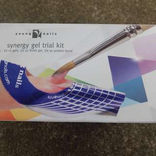 Young Nails Synergy Gel Trial Kit