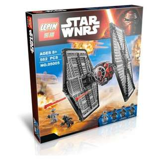 LEPIN 05005 Star Wars Forces Awakening TIE Fighter