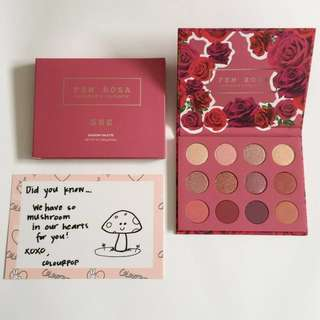 Brand New ColourPop x Karrueche Fem Rosa - SHE - Pressed Powder Shadow Palette