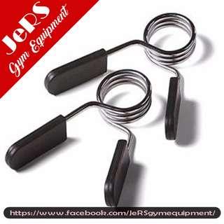 Pair of Dumbbell clip locks for 1 inch dumbbells or bar