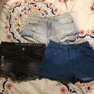 Shorts size 8-12