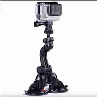 Gopro Twin Suction Cup Mount
