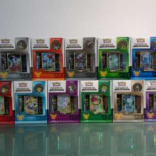 Pokemon 20th Anniversary Mythical Collection Box Sets