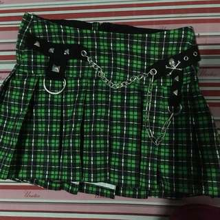 Hot topic plaid skirt