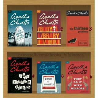 (Ebook Collection) Agatha Christie - Miss Marple Series