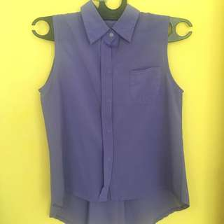 Baju atasan ungu