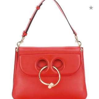 JW Anderson Medium Red Pierce bag