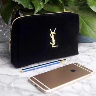 🚚 YSL聖羅蘭香港專櫃VIP滿額禮贈品化妝包