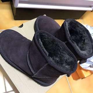 🚚 咖啡雪靴