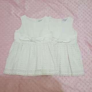 Gingersnaps White Dress