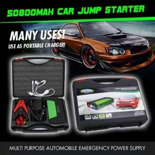 50800mAh Multi-Function Car battery Jump Starter PowerBank Portable Charger