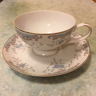 Vintage 1970s mikasa fine china 茶杯set