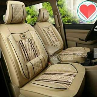 New Universal Seat Cover Beige One Set