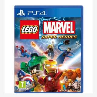 LEGO marvel superheroes ps4 game