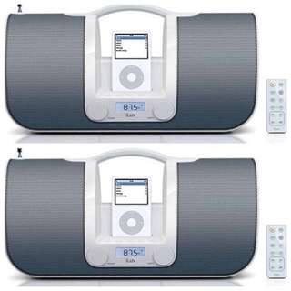 brand new iLuv White Portable audio system for iPod Model i552WHT