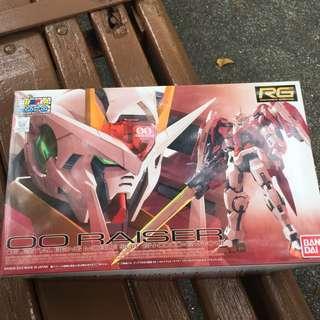 Gundam RG OO raiser clear expo bandai 1/144 Real Grade